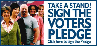 Sign the VotersForPeace Pledge